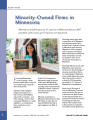 Minority-owned firms in Minnesota